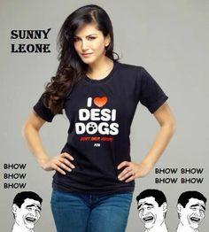 Sunny Leone ke liye kutte ki maut marr jau xD -