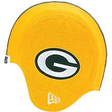 Men s New Era Green Bay Packers Pigskin Knit Hat - NFLShop.com Mein  Liebling 2ef1366faed3