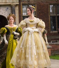 Emily Blunt as Queen Victoria in The Young Victoria (2009). - mid 1830s