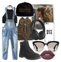 """""""Untitled #13"""" by twiceyourworth on Polyvore featuring New Look, Meli Melo, Relaxfeel, Christian Dior, Timberland, Piers Atkinson, Beats by Dr. Dre and Lime Crime"""