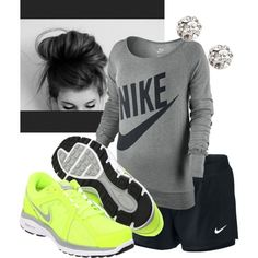 Fitness Fashionista by mindi-dreiling on Polyvore