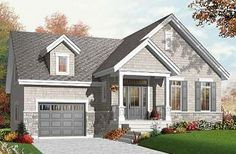 Lilly Single storey, 2 bedroom, open concept craftsman with bonus space - W3272