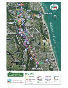 Map Of Jupiter Florida.160 Best Jupiter Florida Businesses Images Florida City Palm