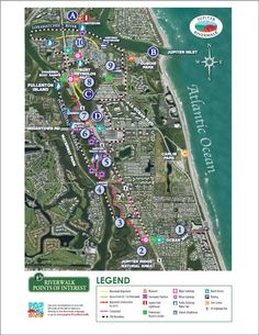 Riverwalk Points of Interest Map