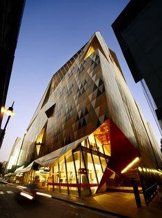 Myer Bourke Street Redevelopment,© Dianna Snape