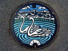 Toyoshina Nagano manhole cover(長野県豊科町のマンホール) | by MRSY