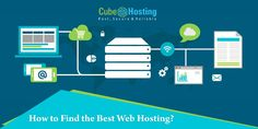 Cube Hosting provides an information on how to find the best web hosting?