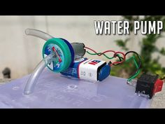 How To Make a Water Pump From DC Motor at Home | DC Motor Ideas - YouTube How To Make Water, Making Water, Mosquito Repellent Machine, Batman Lamp, School Science Projects, Rc Tractors, Water Turbine, Ganapati Decoration, Electric Boat