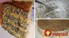 Ukrajinská maková torta s fantastickým krémom! Banana Bread, Desserts, Food, Cakes, Basket, Dessert Ideas, Food Food, Meal, Deserts