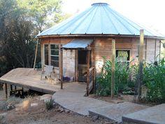 Stewart Family: Yurt living