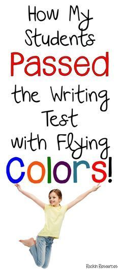 My Students Passed the Writing Test Awesome ideas to teach writing AND keep your students highly motivated to write AND PASS THAT TEST!Awesome ideas to teach writing AND keep your students highly motivated to write AND PASS THAT TEST! Fourth Grade Writing, Writing Test, Writing Curriculum, Paragraph Writing, Narrative Writing, Persuasive Writing, Writing Lessons, Writing Workshop, Teaching Writing