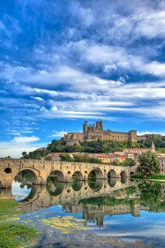 Béziers, Languedoc-Roussillon. We have been able to spend time in this area of France on two different trips and loved it!