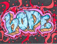 word art | or 3 weeks we pick a new work and make something using that word this ...