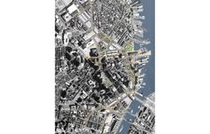 Central Artery Corridor Master Plan Downtown Boston, Master Plan, Corridor, How To Dry Basil, City Photo, How To Plan, Architecture Layout