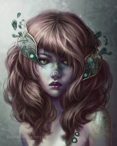 Beautiful Portraits by Jennifer Healy. Check out http://digitalart.io for more great digital art.
