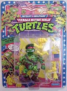 Playmates 1991 – Raph, The Green Beret « MutantOoze.org: Teenage Mutant Ninja Turtles