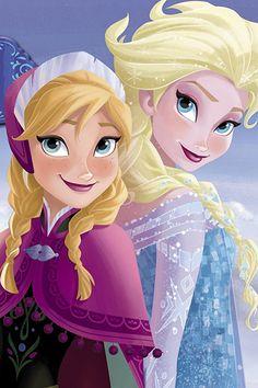 Elsa and Anna Frozen 1, Frozen Fan Art, Frozen Wallpaper, Disney Phone Wallpaper, Disney Princess Frozen, Disney Princess Pictures, Frozen Drawings, Disney Drawings, Disney Nerd