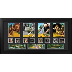 Wizard of Oz Series 1 Quad Film Cell - Filmcells Ltd - Wizard of Oz - Film Cells at Entertainment Earth