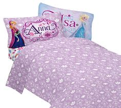 """Get a great deal on this Disney Frozen Sheet Set right now on Amazon.com! Don't """"let it go!"""""""