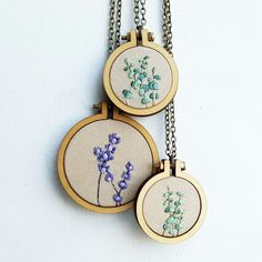 New necklaces just listed!