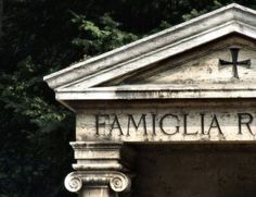 Funeral Traditions in Italy - With limited grave spaces available families are using mausoleums to bury their dead
