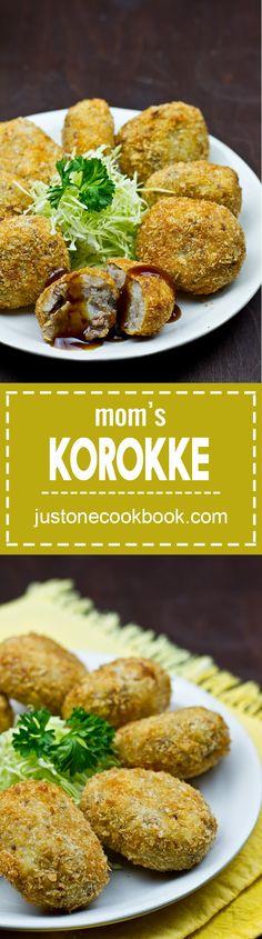 Mom's Korokke (Croquette) コロッケ | Easy Japanese Recipes at JustOneCookbook.com