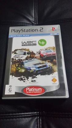 WRC 4 Fifa world rally - ps2 game - PAL - playstation 2 - FREE Postage