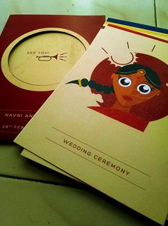 Navni and Tanuj (Wedding Invitation) on Behance