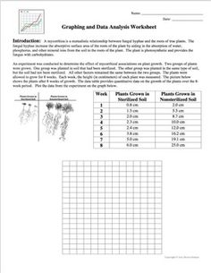 Graphing and Data Analysis: A Scientific Method Activity