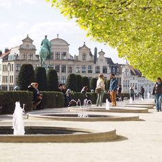 Le #montdesarts in a sunny day as the one we are having today enjoy #brussels parks pic by @smarksthespots