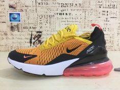 0fbfcb5ad94b50 Zero Defect Nike Air Max 270 Black Orange Pink Men s women s Training  Basketball Shoes AH8050 003