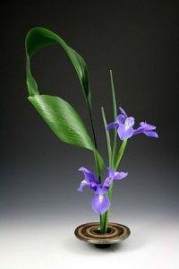 Ikebana vase, Garden design