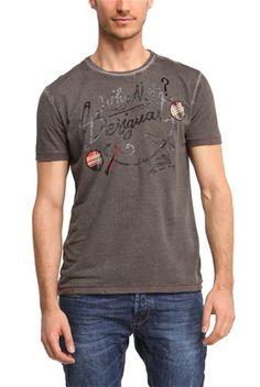 Мъжка тениска, сива - Desigual | Stilago