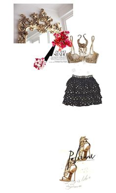 """Sexappeal o.o"" by fashiondare ❤ liked on Polyvore featuring Agent Provocateur, Giuseppe Zanotti, DANNIJO and Accessorize"