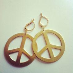 Peace #earrings