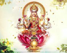 Goddess Laxmi HD Wallpaper Download