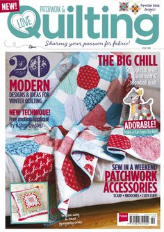 Issue 2 of Love Patchwork & Quilting magazine - buy a copy or subscribe for fab savings here http://www.myfavouritemagazines.co.uk/stitch-craft/love-patchwork-and-quilting-magazine-subscription/  https://www.facebook.com/lovepatchworkandquilting