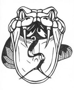 Snake Tattoo Designs - The Body is a Canvas Car Drawings, Tattoo Drawings, Tattoo Art, Unique Tattoos, Cool Tattoos, Snake Coloring Pages, Chicano Style Tattoo, Snake Drawing, Tattoo Flash Sheet