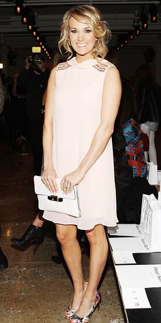 bc010b911 Carrie Underwood in Ted Baker London (2014 New York Fashion Week) Ny  Fashion Week