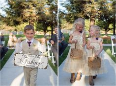 Rustic Fishing-Inspired Wedding - Alyssa + Jamie | The Daily Wedding