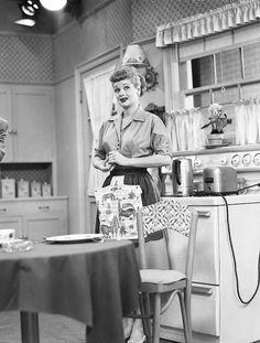 I Love Lucy - kitchen