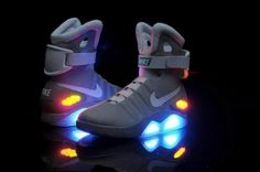 2012 NIKE MAG (Back to the Future) Limited edition Shoes Only $250
