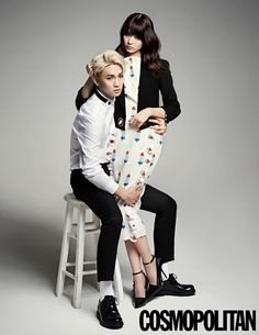 "SHINee's Key and Yagi Arisa special ""We Got Married Global"" photoshoot for 'Cosmopolitan' #KpopFashion"