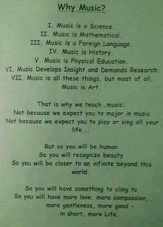 Why Music?