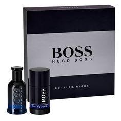 Hugo Boss BOSS BOTTLED. NIGHT. Eau de Toilette 50ml Gift Set, Conquer the night with the Hugo Boss BOSS BOTTLED. NIGHT. Eau de Toilette 50ml Gift Set, containing the irresistible Eau de Toilette,
