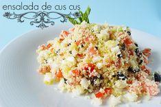 ENSALADA DE CUS CUS | All your sites