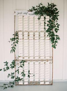Featured Photographer: Nicole Berrett Photography; Wedding name cards ideas.