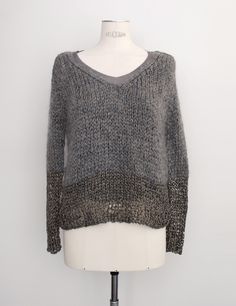 Iaponia gray beige pull