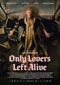 Выживут только любовники, Джим Джармуш, 2013. Плавное течение бесконечности, нетривиальные образы и культовая тематика. Говорят фильмы про вамприров — подростковое увлечение, это не так.