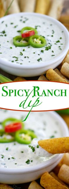 This easy Spicy Ranc
